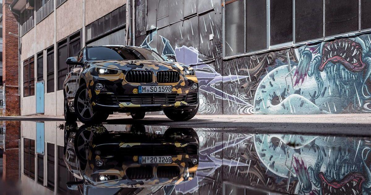 В Сети рассекретили серийную версию нового кроссовера BMW X2