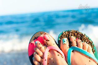 Пляж, педикюр, грибок ногтей: лишнее исключить