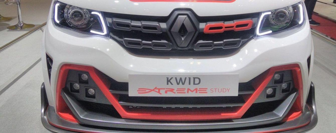 Renault построил экстремальную версию хэтчбека Kwid