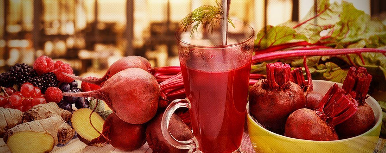 Ферментований буряковий квас: напій для довгожителя