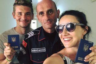Соломия Витвицкая случайно забыла украинский паспорт на заправке в Черногории