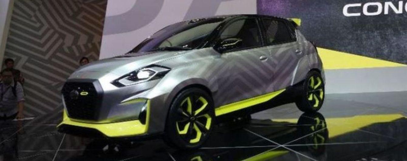 Datsun представил концептуальный хэтчбек Go Live