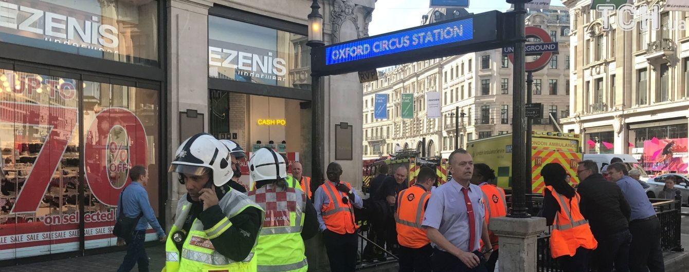 У Британії у годину пік загорівся вагон метро