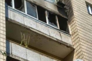 Пожар в центре Киева: мужчина убил двух женщин, поджег квартиру и выбросился из окна - полиция