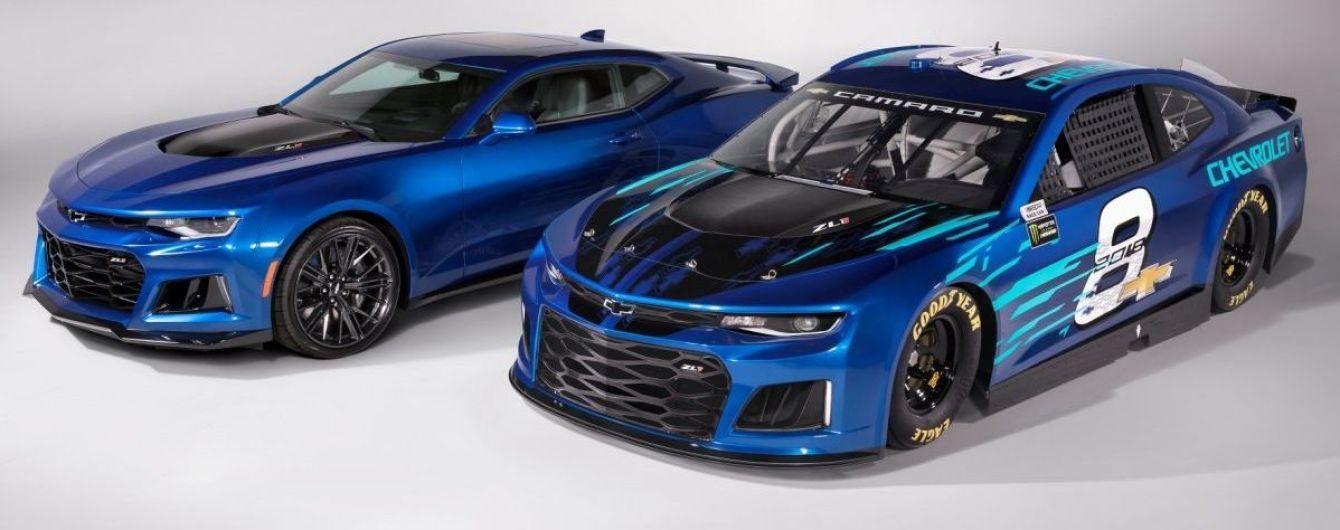 Chevrolet показал новую версию гоночного купе Camaro для NASCAR