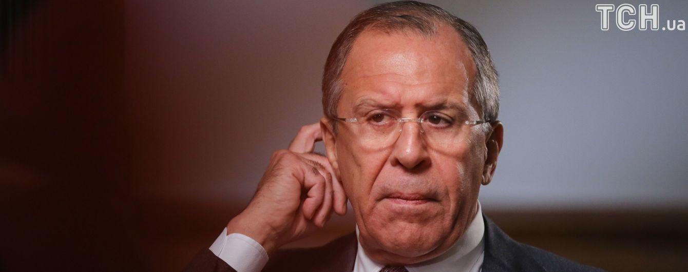 Лавров заявив, що війною проблему Донбасу не вирішити