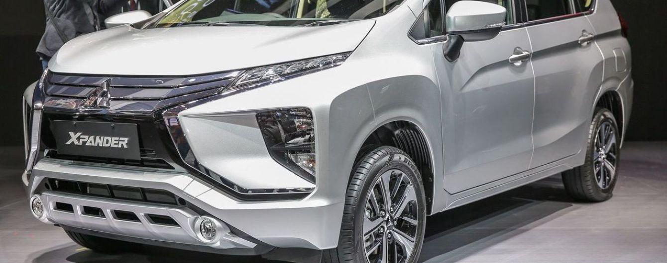 В Индонезии представлен кроссвэн Mitsubishi Xpander