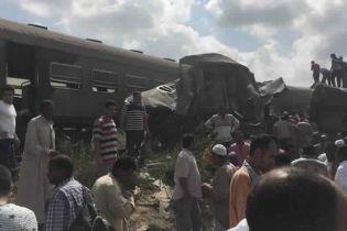 Жуткая железнодорожная катастрофа в Египте: по меньшей мере два десятка погибших и полсотни раненых