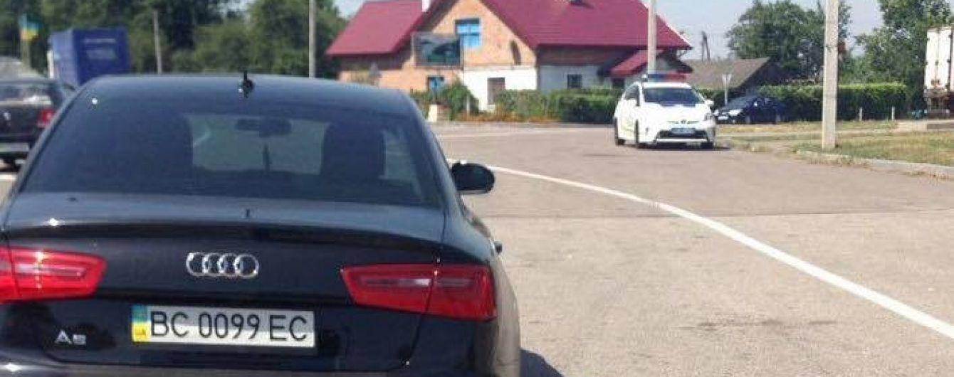 На Львівщині затримали нардепа, який перебував за кермом напідпитку - ЗМІ