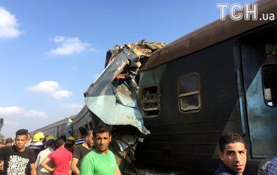 Від побаченого на місці аварії потягів у Єгипті помер радник міністра транспорту