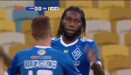 Динамо - Зирка - 1:0. Видео гола Мбокани