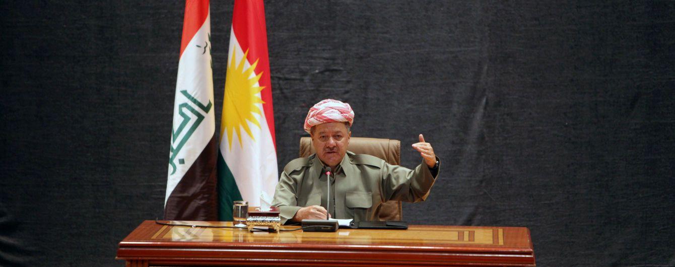 У Тіллерсона не вийшло відмовити голову Іракського Курдистану від референдуму про незалежність