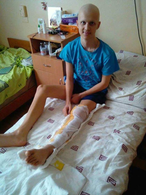 Допомоги в подоланні раку потребує молодий спортсмен – майбутній чемпіон