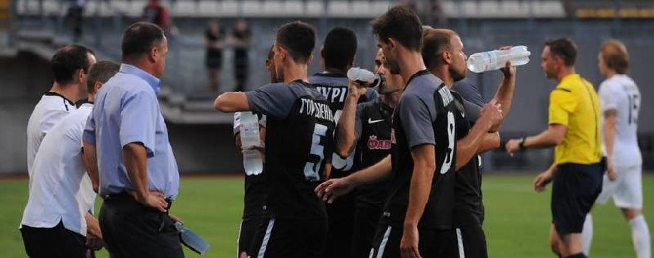 """""""Заря"""" наконец-то выиграла первый матч в УПЛ"""