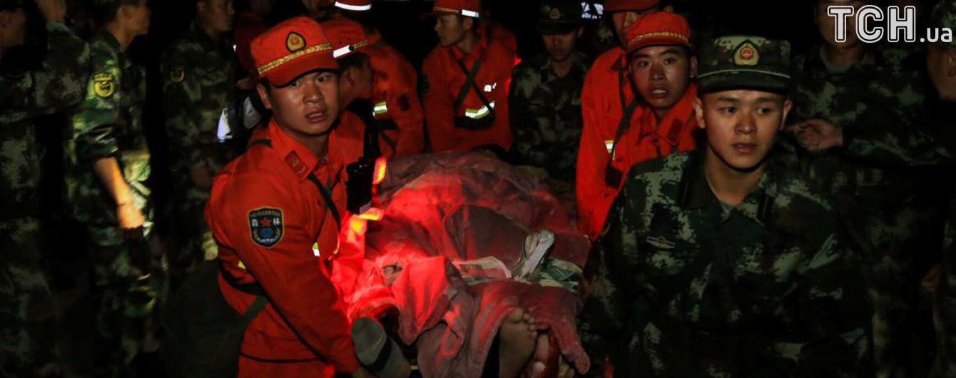 Майже 1,7 тисяч повторних підземних поштовхів зафіксовано у Китаї після землетрусу
