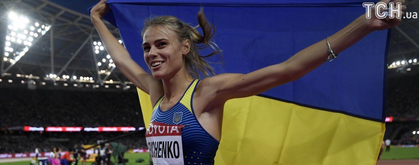 Українська легкоатлетка Левченко увійшла до трійки найкращих спортсменок Європи