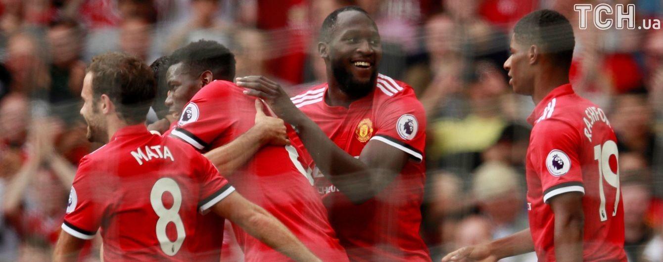 """""""Манчестер Юнайтед"""" розпочав новий сезон із розгрому """"молотобійців"""""""