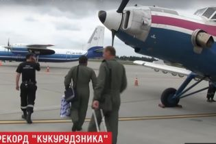 """Український """"кукурудзник"""" повернувся з Польщі додому й скоро встановить рекорд"""