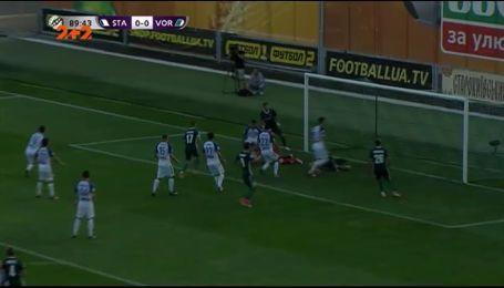 Сталь - Ворскла - 0:1. Відео матчу
