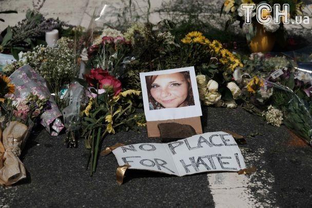 Стала відома особа загиблої внаслідок наїзду автомобілю на натовп мітингувальників у Вірджинії