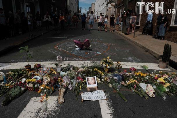 Стала известна личность погибшей в результате наезда автомобиля на толпу митингующих в Вирджинии