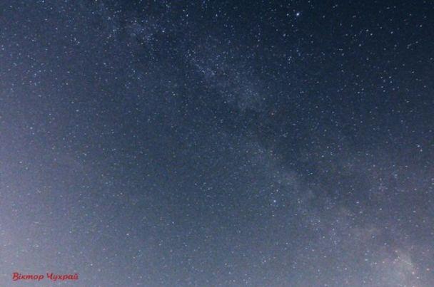 Летний звездопад: украинец зафиксировал метеорный дождь на фото