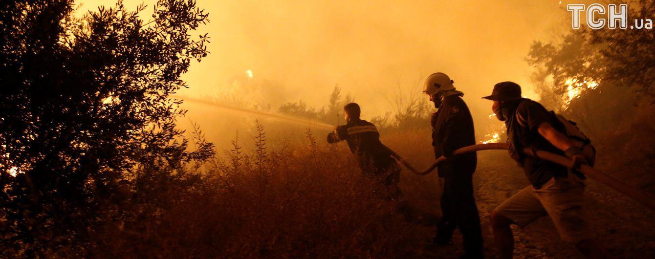 В Канаде вспыхнул новый сильный лесной пожар