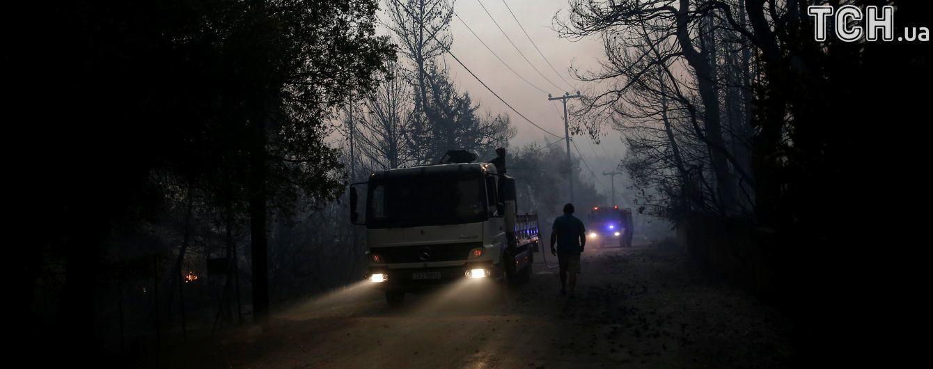 Огненная стихия: в США в результате лесных пожаров пришлось эвакуировать тысячи местных жителей