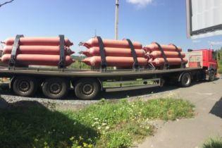 В Хмельницкой области налоговики задержали незаконную передвижную газозаправочную станцию