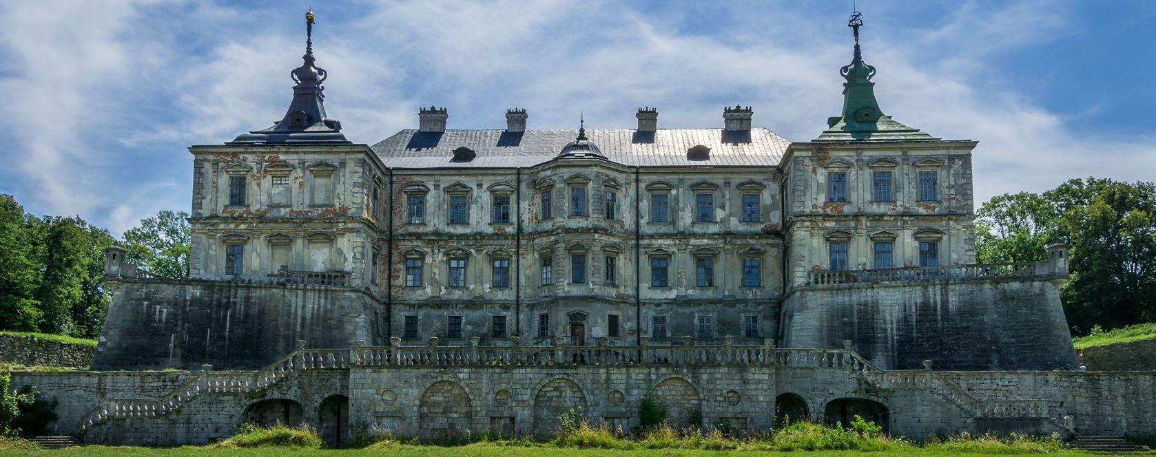 Підгірці, Підгорецький замок