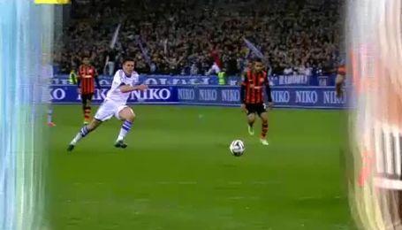 Динамо - Шахтар - 0:1. Відео голу Адріано