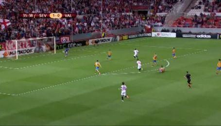 Севілья - Валенсія - 2:0. Відео голу Бакка