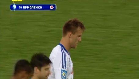 Динамо - Чорноморець - 3:0. Відео гола Ярмоленко