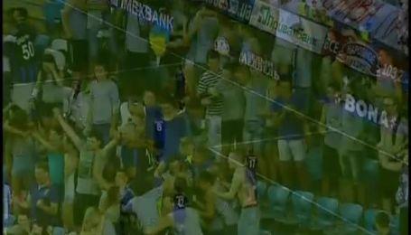 Чорноморець - Олімпік - 4:0. Відео голу Балашова