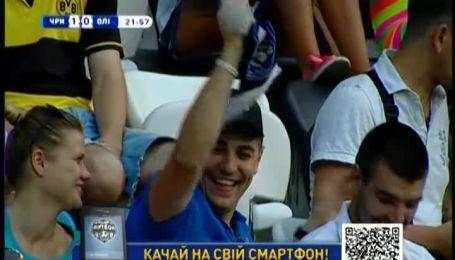 Чорноморець - Олімпік - 4:0. Відео матчу