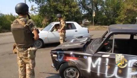 Блокпост поблизу Вуглегорска Донецької області