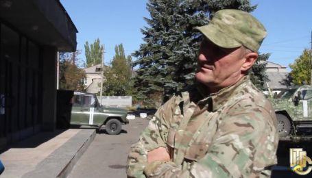 Авто сина колишнього Президента України в АТО