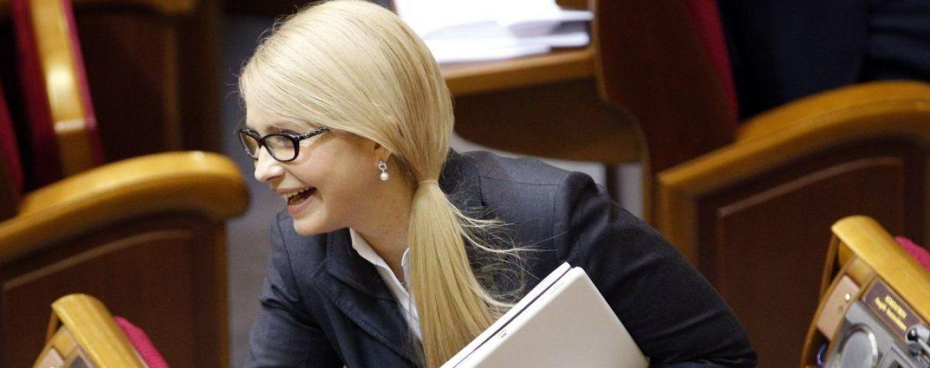 Тимошенко вручили админпротокол о незаконном пересечении границы