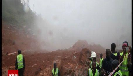 Из-за оползней более 200 человек погибло на окраине столицы Сьерра-Леоне