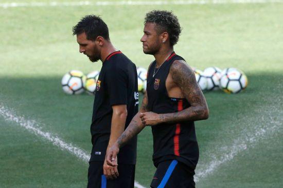 """Мессі обіцяв Неймару """"Золотий м'яч"""", якщо той залишиться у """"Барселоні"""""""