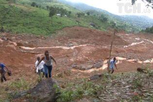 Среди погибших в результате оползня в Сьерра-Леоне более 100 детей