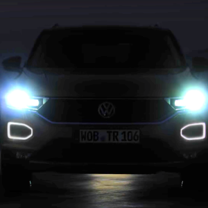 Volkswagen опубликовал видеотизер серийного кроссовера T-Roc
