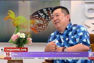 """Китайський живописець Донг Хао завітав до студії """"Сніданку"""""""