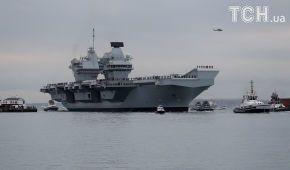 280 метров в длину: крупнейший военный корабль Британии начал боевое дежурство