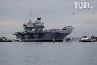 280 метрів в довжину: найбільший військовий корабель Британії розпочав бойове чергування