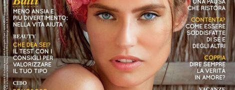Красивая и обнаженная: Бьянка Балти позировала топлес для обложки журнала