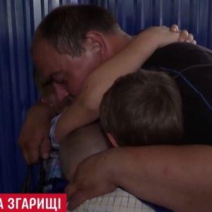 Одинокий отец пятерых детей Черниговщине наконец получил поддержку чиновников после сокрушительного пожара