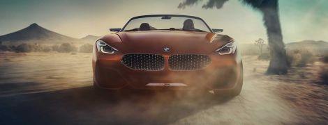В Сети появились фото концептуального родстера BMW Z4