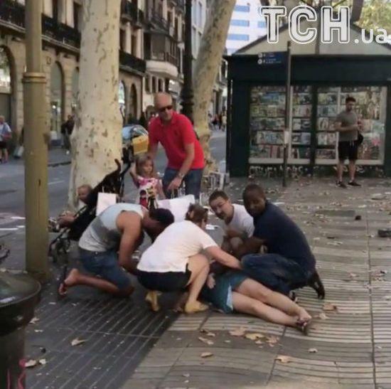 Офіційно: унаслідок теракту в Барселоні загинуло 12 осіб, 80 отримали поранення