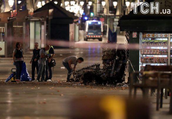 Милиция: натеррористах вКамбрильсе были пояса смертников